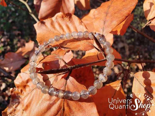 Bracelet Labradorite – Pierre de Protection et du Thérapeute – Qualité AA+ – Boule 6mm