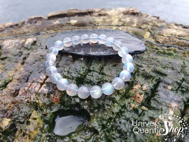 Bracelet Labradorite – Pierre de Protection et du Thérapeute – Qualité AAA – Boule 8mm