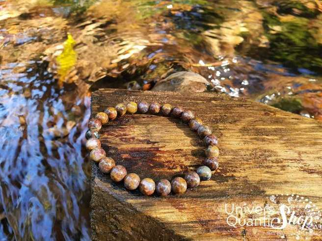 Bracelet Piétersite – Pierre d'Affirmation – Qualité A – Boule 6mm