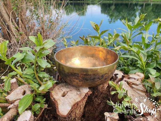 """Bol Chantant Tibétain """"Art Antique"""" aux 6 métaux – 19"""