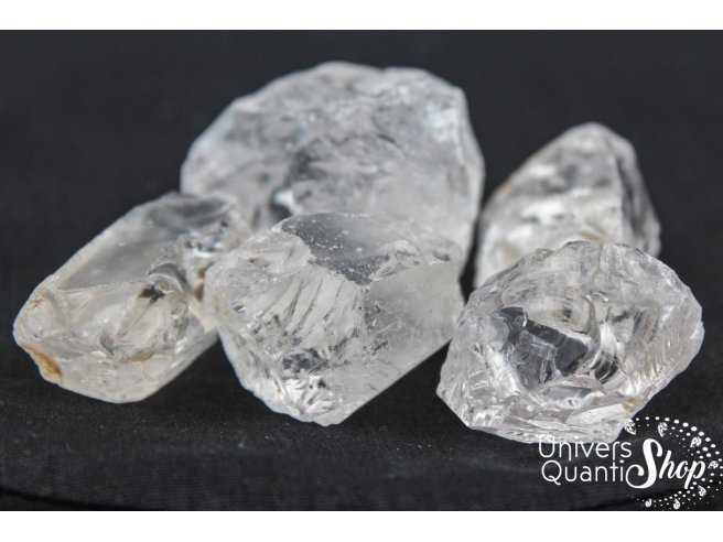 Sélection pierres brutes cristal de roche