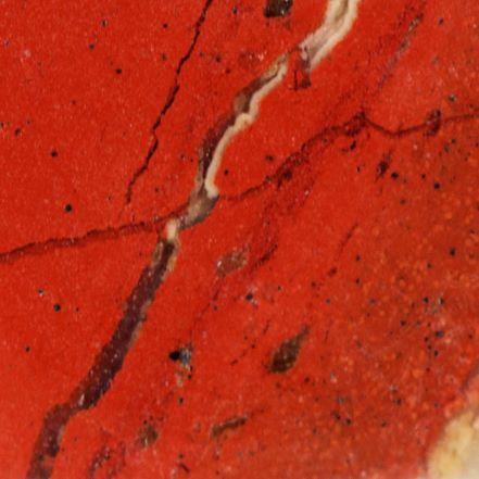 Composition chimique du jaspe rouge