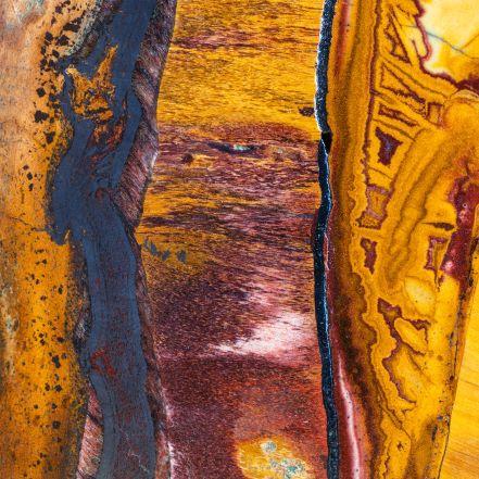Composition chimique de la pierre oeil de tigre