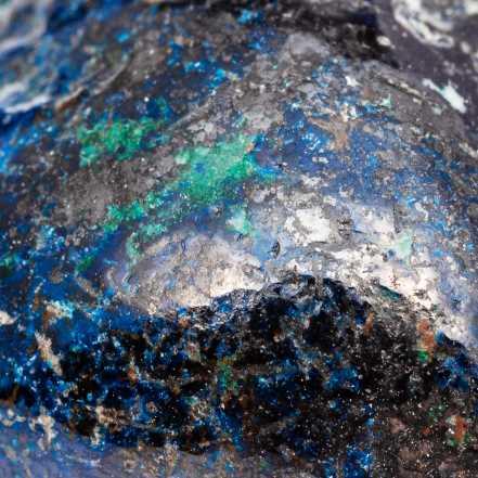 Composition chimique de l'azurite-malachite