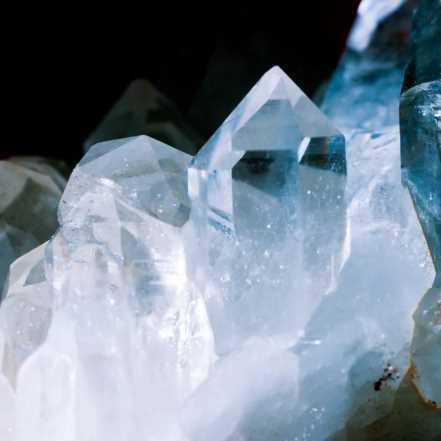 Composition chimique du cristal de roche