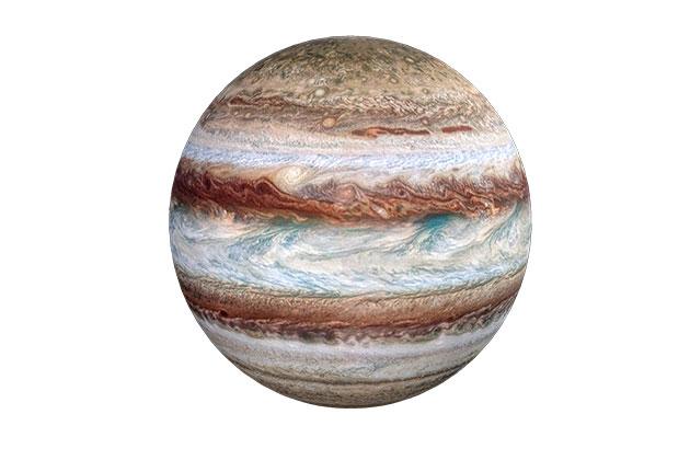 Jupiter planète système solaireBols tibétains : L'étain et Jupiter, associé au jeudi