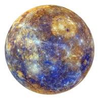 élement planète système solaireBols tibétains : Le Mercure et Mercure, associé à mercredi