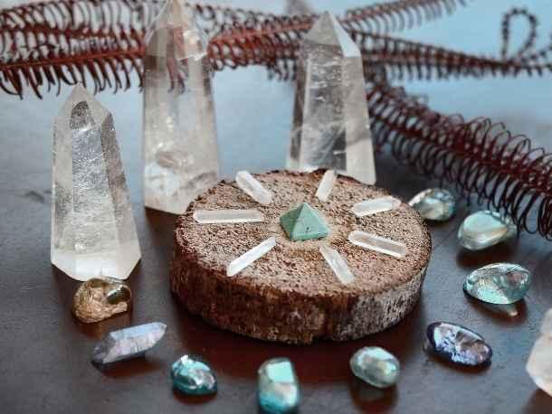 La pierre cristal de roche et son histoire