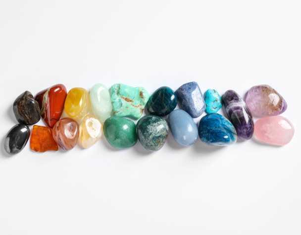 Signification symbolique de la couleurs des cristaux
