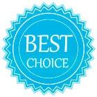 Logo meilleure choix de la bouteille i9