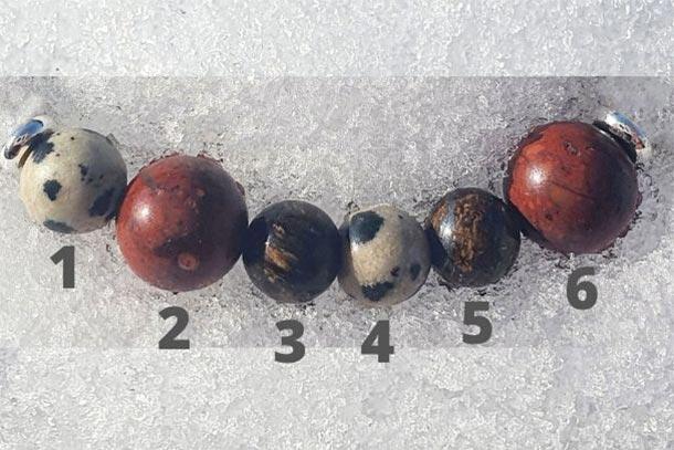 principe d'engendrement jaspe dalmatien et breschia avec la bronzite